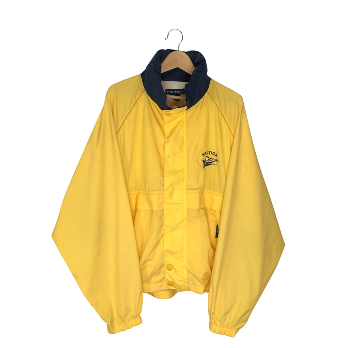Vintage Nautica Sail Windbreaker - Men's XL