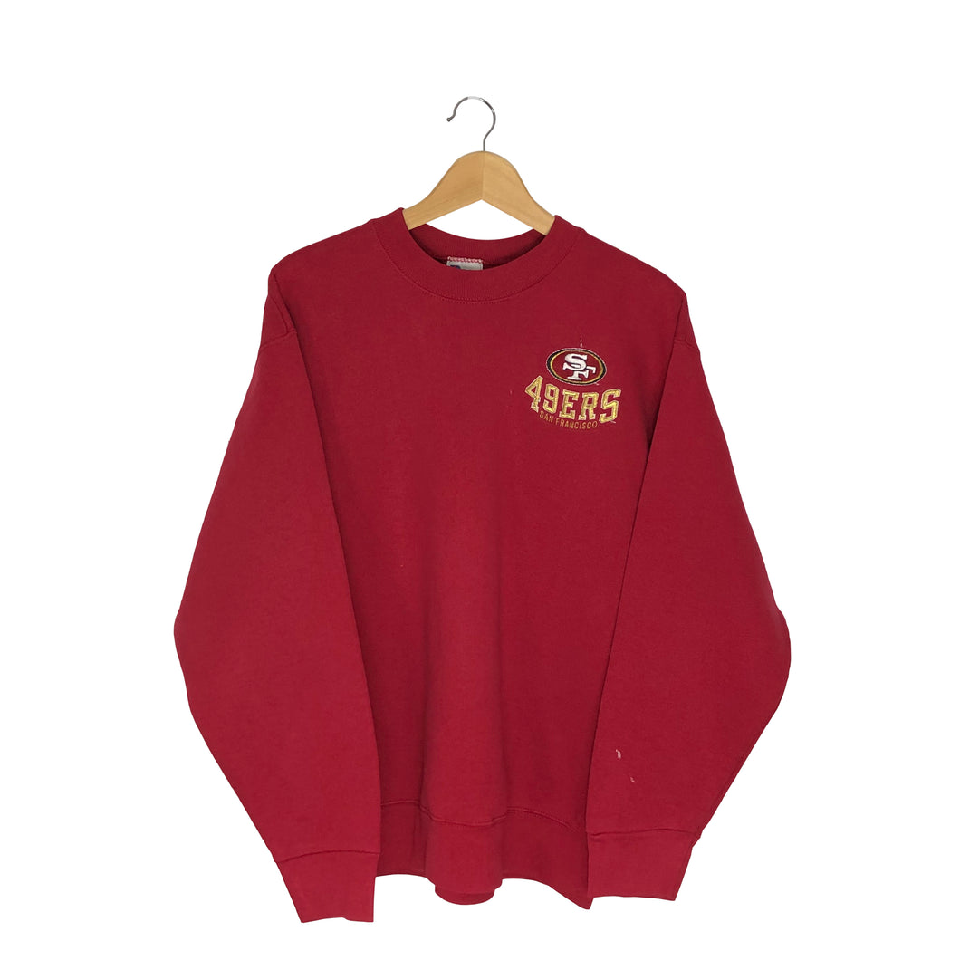 Vintage Pro Player San Francisco 49ers Pullover Sweatshirt - Men's Medium