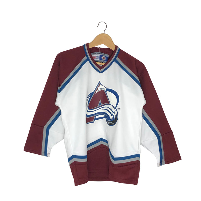 Vintage CCM Colorado Avalanche Jersey - Men's Small