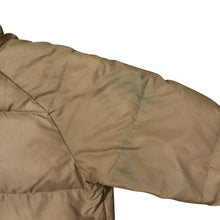 Load image into Gallery viewer, Vintage Abercrombie & Fitch Camel Goose Down Jacket - Men's Medium