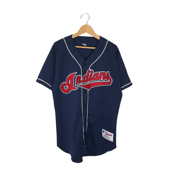 Vintage Russell Athletic Cleveland Indians MLB Jersey - Men's XL