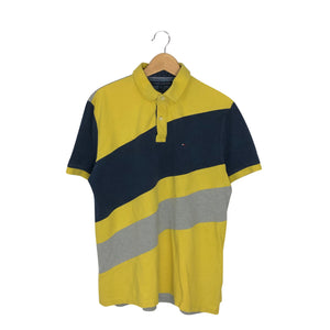 Tommy Hilfiger Colorblock Rugby Polo Shirt - Men's XL