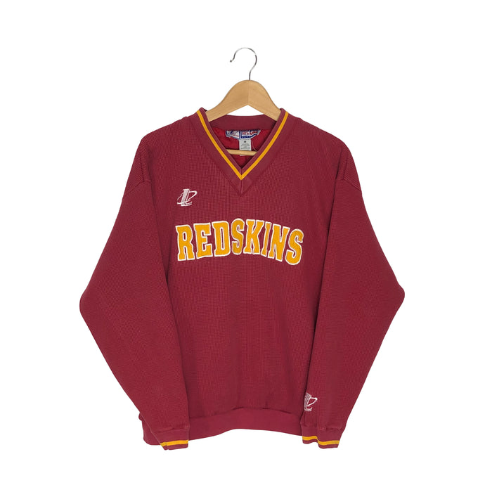 Vintage Logo Athletic Washington Redskins Pullover Sweatshirt - Men's Small