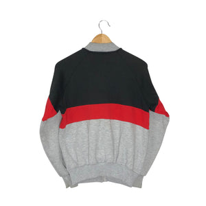 Vintage 1980s Adidas Colorblock Sweatshirt - Women's Medium
