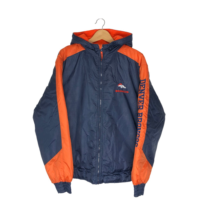 Vintage Denver Broncos Insulated Jacket - Men's Large