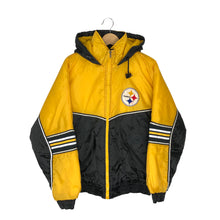 Load image into Gallery viewer, Vintage NFL Pittsburgh Steelers Insulated Jacket - Men's Medium