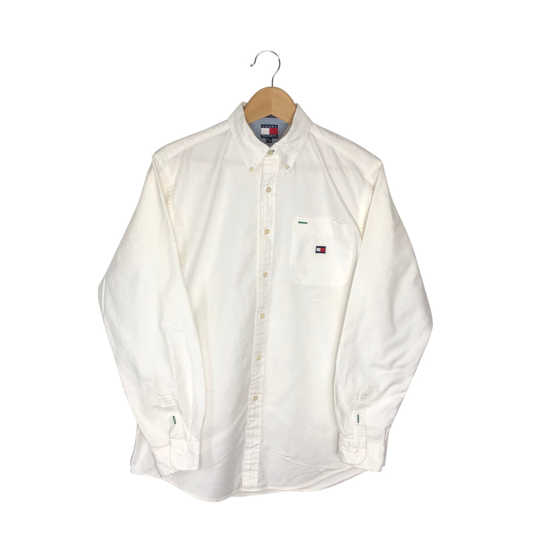 Vintage Tommy Hilfiger Button-Down Shirt - Men's Small