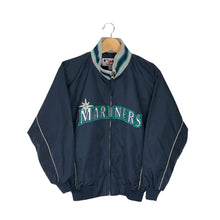 Load image into Gallery viewer, Vintage Majestic Seattle Mariners Windbreaker - Women's Small