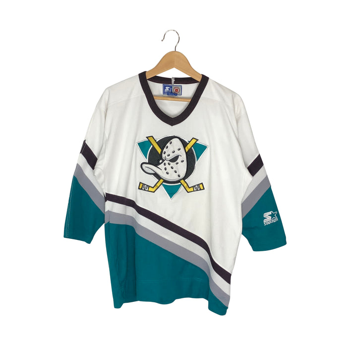 Vintage Starter Anaheim Mighty Ducks Jersey - Women's Large