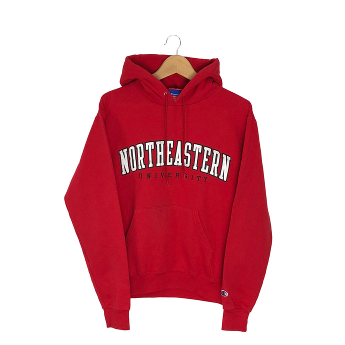 Vintage Champion Northeastern University Hoodie - Men's Small