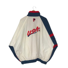 Load image into Gallery viewer, Vintage 1995 Pro Player USA Basketball Colorblock Windbreaker - Men's 3XL