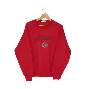 Vintage 1997 Cleveland Indians World Series Pullover Sweatshirt - Men's Medium