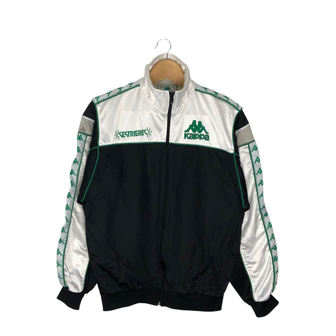Vintage Custom Kappa Tape Logo Track Jacket - Men's Small