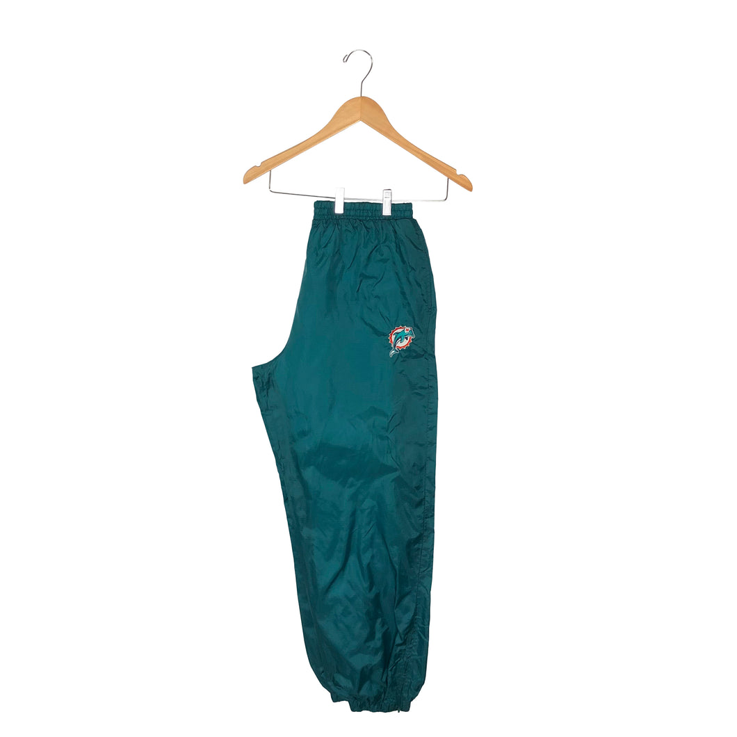 Vintage Miami Dolphins Cuffed Track Pants - Men's XL