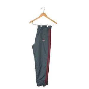 Vintage Adidas Zip Away Track Pants - Men's Small