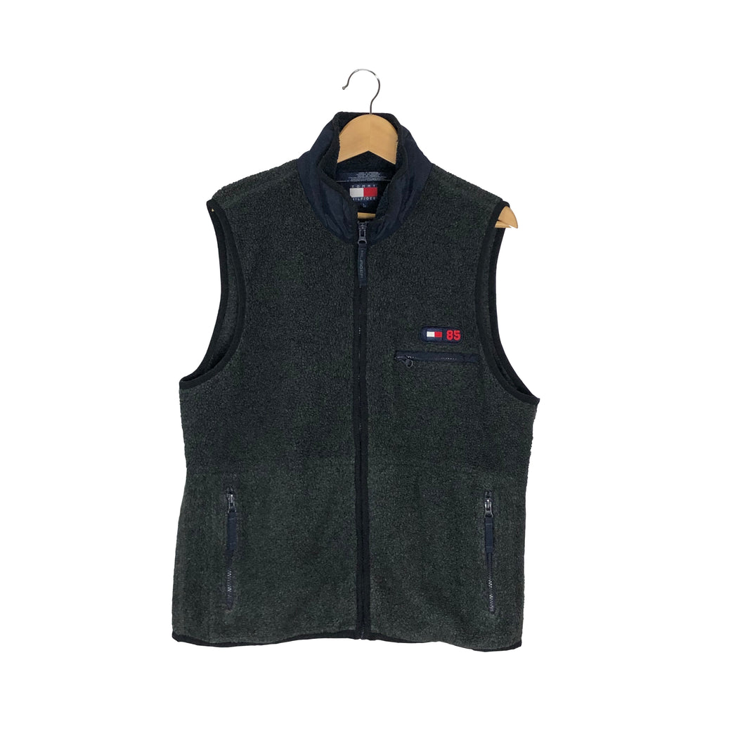 Vintage Tommy Hilfiger Fleece Vest - Men's Large