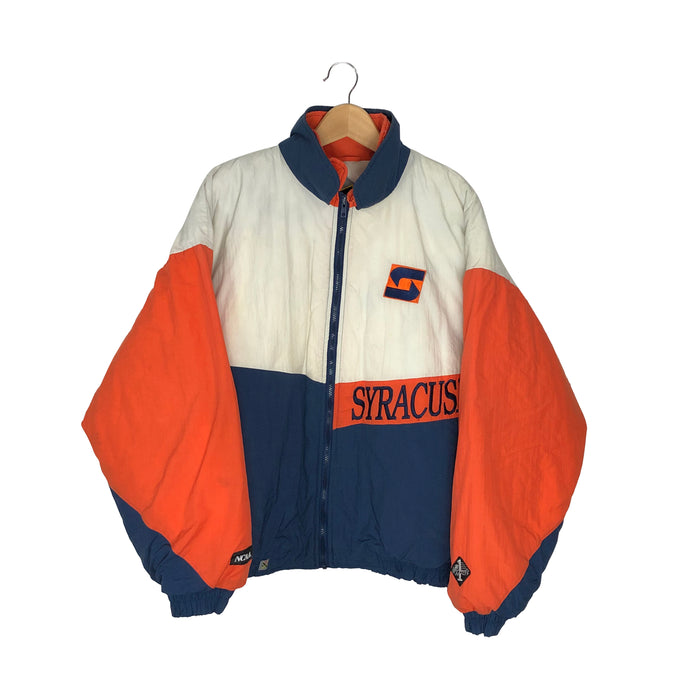 Vintage Syracuse Orangemen Insulated Jacket - Men's 2XL