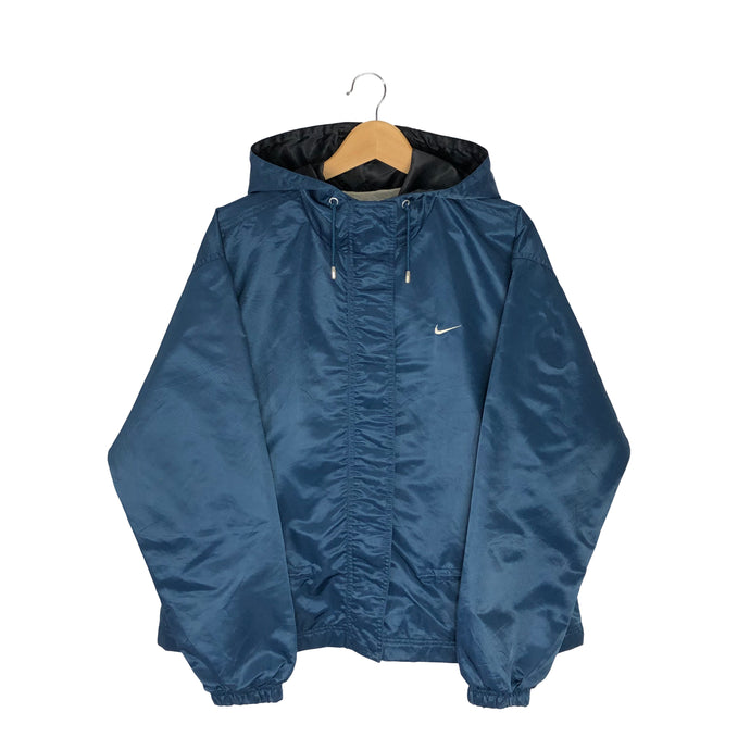 Vintage Nike Spell Out Windbreaker - Women's XL