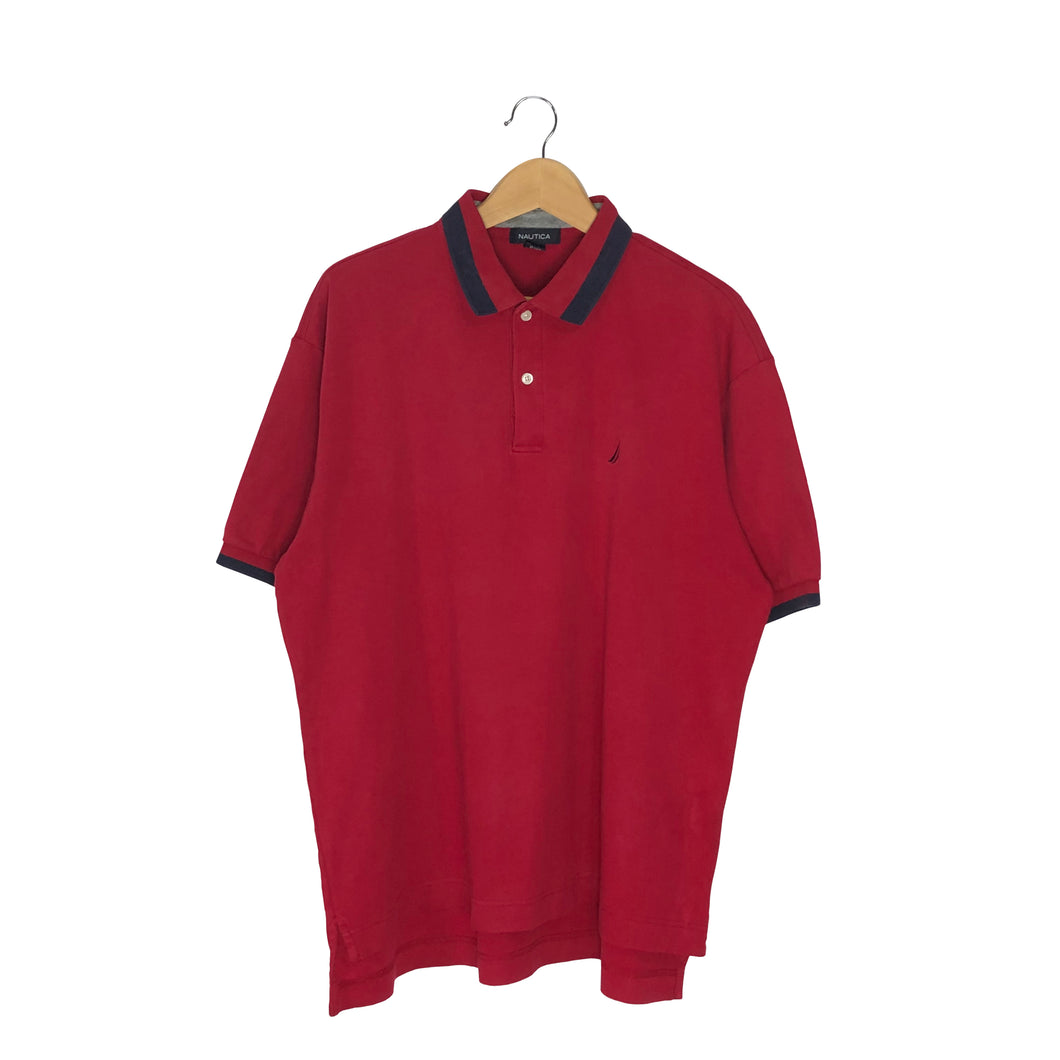 Nautica Polo T-Shirt - Men's Large
