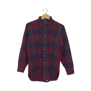 Vintage Pendleton Flannel Shirt - Women's Large