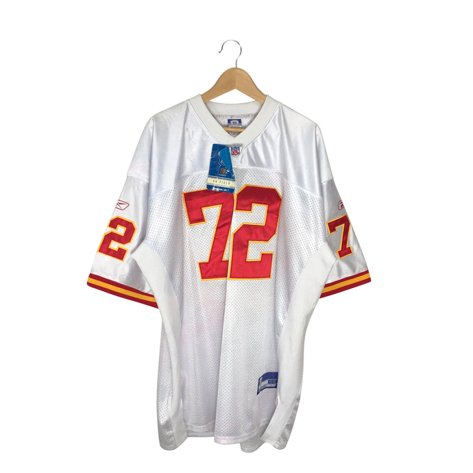 Reebok NFL Kansas City Chiefs Glenn Dorsey #72 Stitched Jersey - Men's 2XL