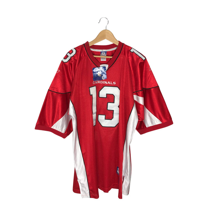 Reebok NFL Arizona Cardinals Kurt Warner #13 Jersey - Men's 2XL