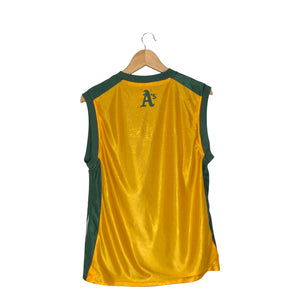 Vintage Nike MLB Oakland Athletics Mid Check Reversible Jersey - Men's Small