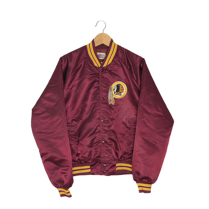 Vintage NFL Washington Redskins Satin Bomber Jacket - Men's Large