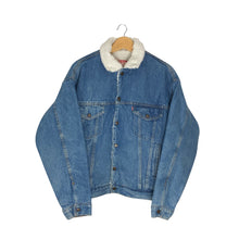 Load image into Gallery viewer, Vintage Levis Sherpa Lined Denim Jacket - Women's Large
