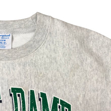 Load image into Gallery viewer, Vintage Champion Reverse Weave Notre Dame Sweatshirt - Men's Medium