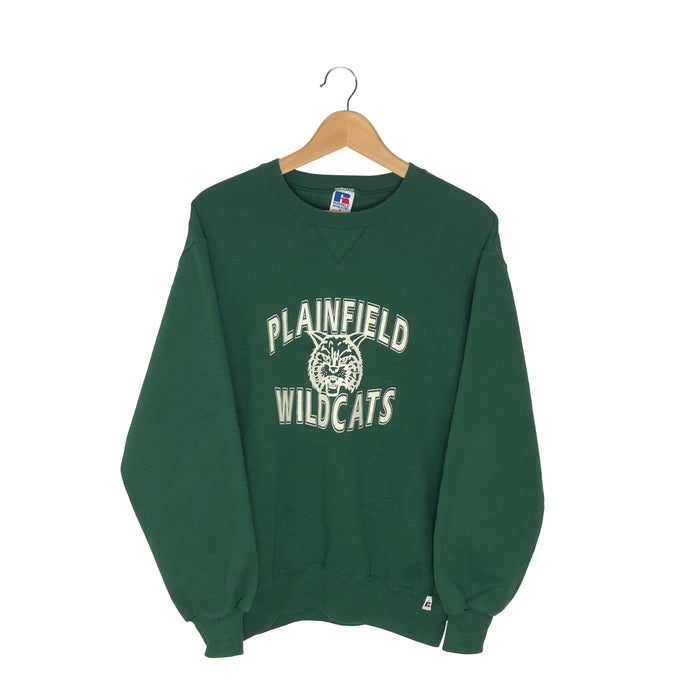 Vintage Plainfield Wildcats Sweatshirt - Women's Medium