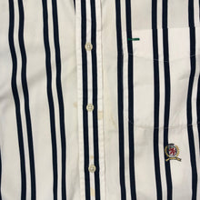 Load image into Gallery viewer, Vintage Tommy Hilfiger Striped Button-Down Shirt - Men's Medium