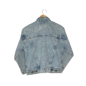 Vintage Levis Brown Tab Denim Jacket - Women's XS