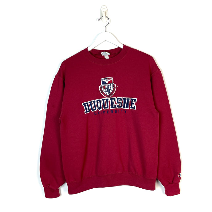 Champion Duquesne University Sweatshirt - Men's Small