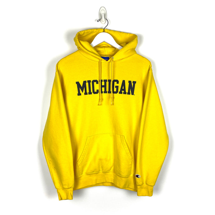 Champion Michigan Hoodie - Men's Medium