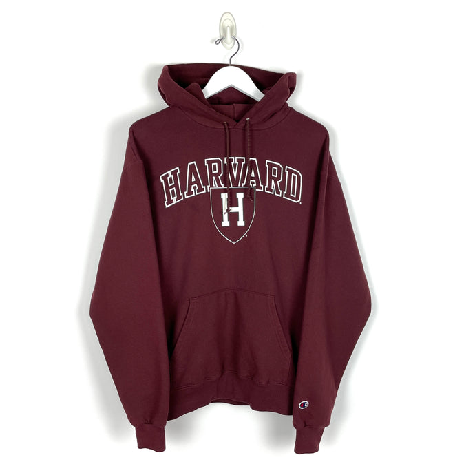 Champion Harvard University Hoodie - Men's Large