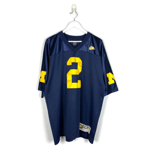 Vintage Nike Michigan Wolverines Charles Woodson #2 Jersey - Men's 2XL