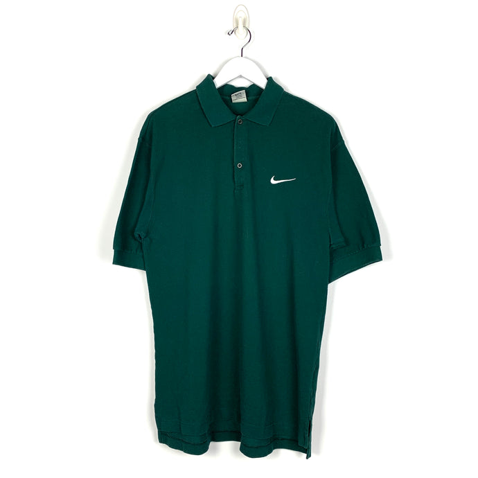 Vintage Nike Rugby Polo Shirt - Men's Medium