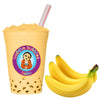 1 kilo / 2.2 Pounds 45+ Drinks BANANA CREAM Boba Bubble Tea 3 in 1 Powder by BUDDHA BUBBLES BOBA