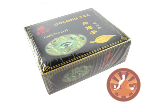 100 Bags Black Label Oolong Fat Burner Tea WuYi Diet Weight Loss Tea