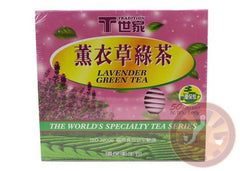 Lavender Green Tea 50 Tea Bags ALL NATURAL