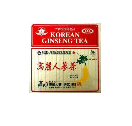 SOLD OUT  100 KOREAN GINSENG TEA Wooden Box with 100 2g Tea Bags