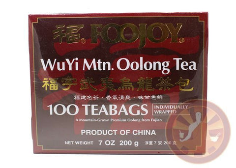 100 Bags WuYi FooJoy Oolong Weight Loss Tea WuLong REAL WUYI TEA