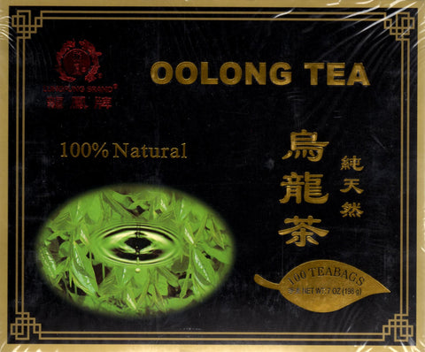 Black Label Oolong Fat Burner Tea WuYi Diet Weight Loss Tea 50 Bags