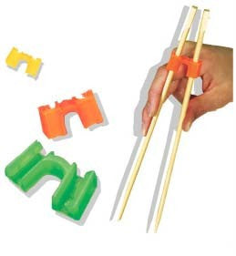 FunChop Chopstick Helpers 5 Sets including Chopsticks
