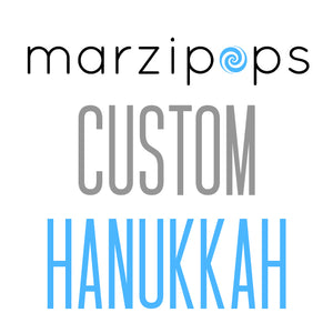 Custom Hanukkah treats