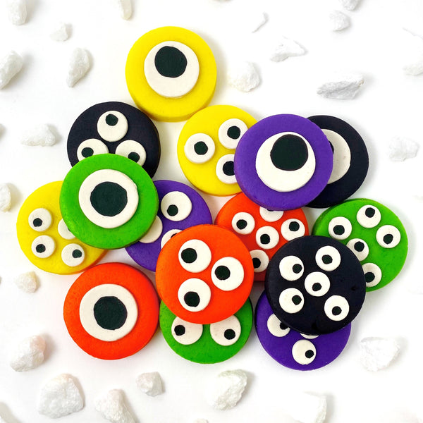 Halloween monster eye tiles collection
