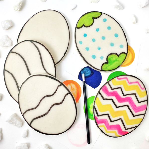 Easter paint your own eggs  five