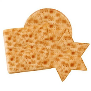 Passover assorted matzah shapes trio marzipan treats