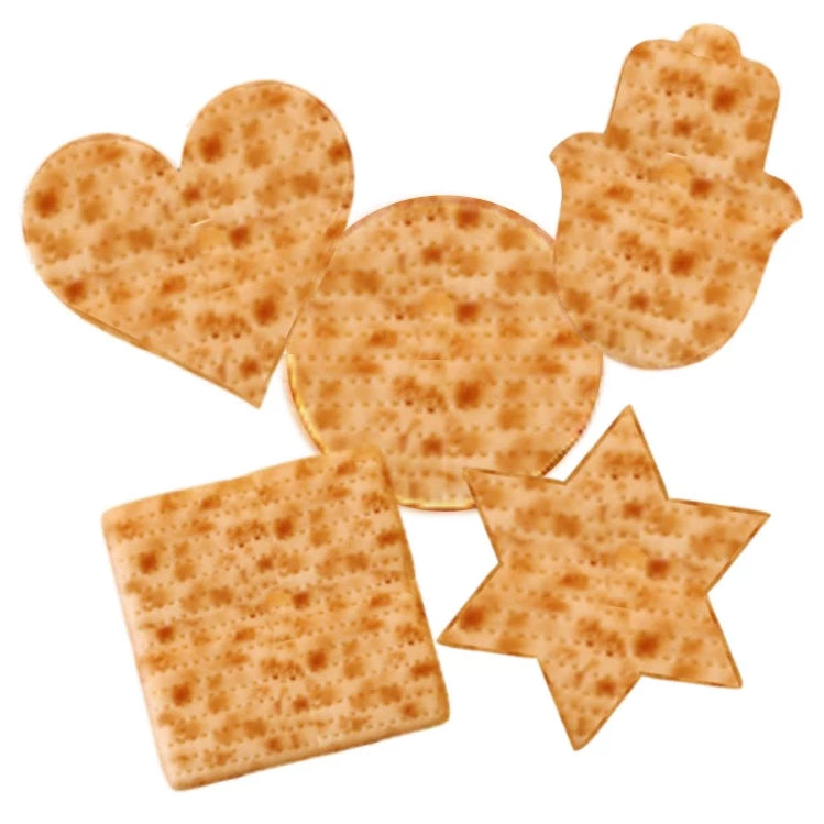 Passover assorted matzah shapes marzipan treats